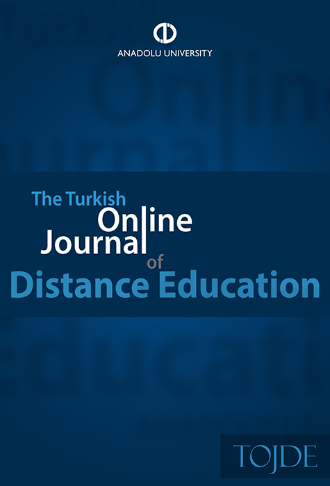 The Turkish Online Journal of Distance Education